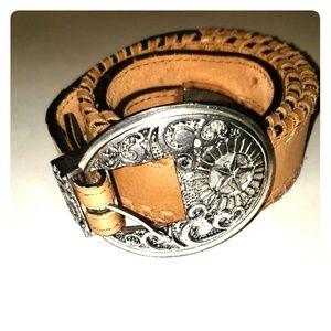 Womens leather belt size 30